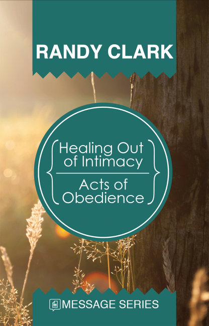 Healing Out of Intimacy / Acts of Obedience