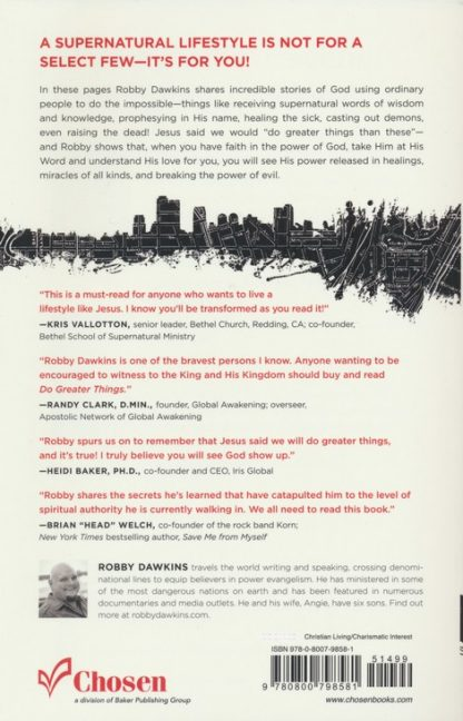 back cover image of do greater things