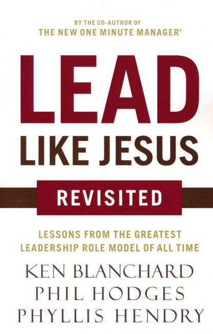 Cover image of Lead Like Jesus book