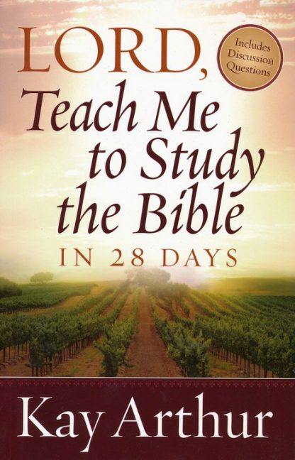 cover image of Lord Teach Me To Study the Bible in 28 Days book