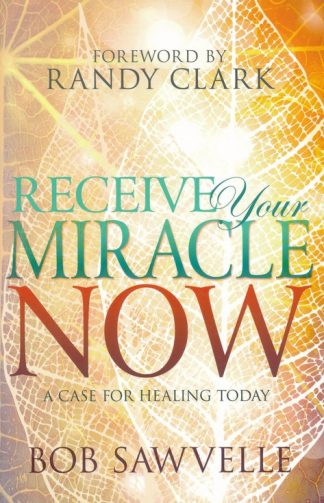 cover image of receive your miracle now book