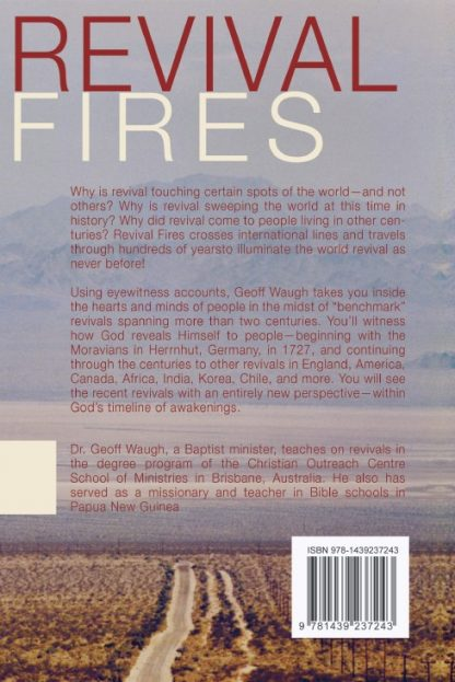 back cover image of revival fires book