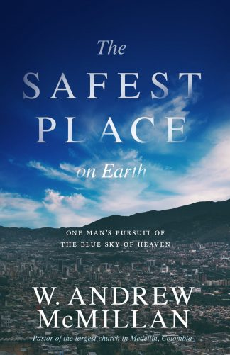 cover image of the safest place on earth book