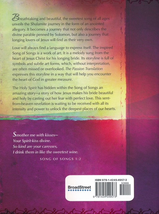 Song of Songs - The Passion Translation - Global Awakening Online Store