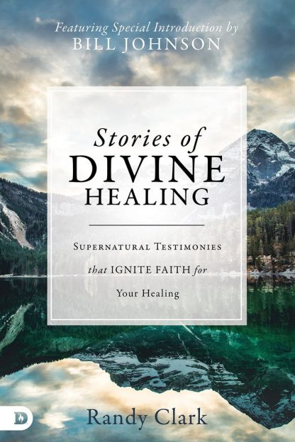 """image of randy clark book titled """"stories of divine healing"""""""