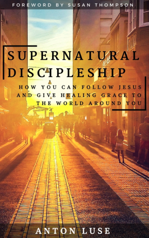 cover image of supernatural discipleship book