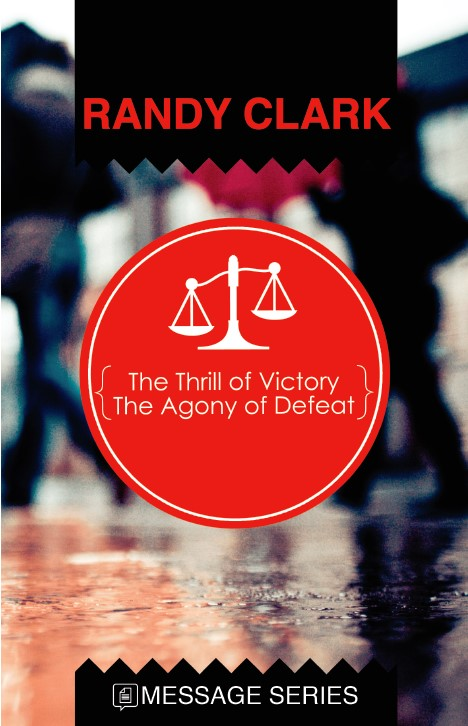 cover image of Thrill of Victory agony of defeat booklet